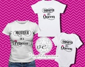 Mother and Daughter Shirt Collection- A set of 2 shirts