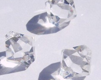 Swarovski elements Top-Drilled Bicone 6301 Pendants Clear Crystal -- Available in 6mm and 8mm