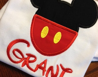 Personalized mickey mouse shirt - mickey mouse disney shirt