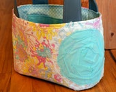 Pastel Floral LDS Scripture Tote-Ready to ship