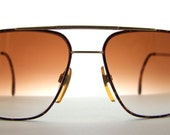 Givenchy Sunglasses // New gradient sunglass lenses // Early 1990s Vintage Designer Frames // Italy