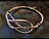 Robbie's Multi-String Sailor's Knot Recycled Guitar String Bangle