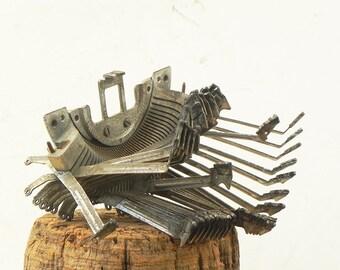 Salvaged Vintage Typewriter Heart Striker Parts