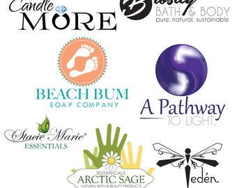 Custom Logo Design with FREE Business Card Design