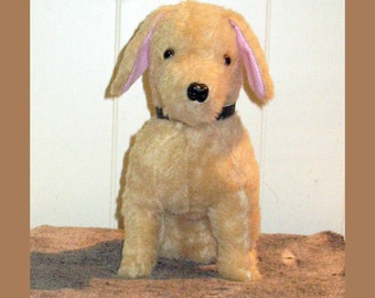 Plush puppy / Plush Golden Retriever / Your Very Own Plush Puppy