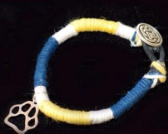 Custom wrapped bracelet