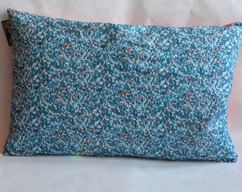 Meadow throw pillow in Teal