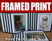 JEREMY WORST 1 x Framed Print  of your choice christmas gifts sale featured