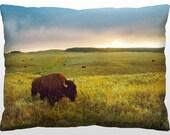 Decorative Landscape Pillow - Yellowstone National Park