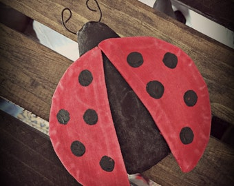 Primitive Lady Bug bowl fillers | Summer decorations |