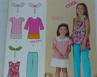 Pattern for Girls, Pattern for toddlers, Pattern for dresses, Pattern for Pants, Pattern for tunic, Pattern for detachavle Collars