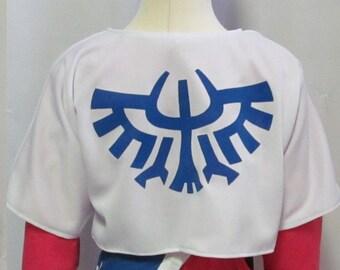 Legend of Zelda Skyward Sword Princess Zelda Child Size Sailcloth Shoulder Wrap Jacket
