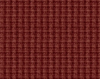 Flannel Fabric Red Plaid Woolies Fabric by the yard cotton quilting quilt fabric 18504M R Maywood Sewing