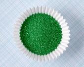 Emerald Green Sanding Sugar (2 ounces) - Green Fine Sanding Sugar - Small Bag
