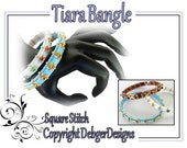 Tiara Tila Bangle -  Beading Pattern Tutorial