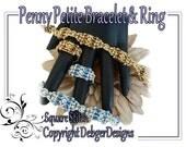 Penny Petite Bracelet and Ring - Beading Pattern Tutorial
