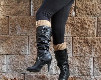 KNITTING PATTERN-Modestly Simple, Boot Cuff Pattern
