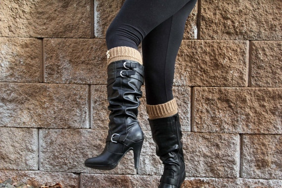 KNITTING PATTERN-Modestly Simple, Boot Cuff Pattern