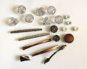 Lot of Vintage Drawer Pulls and Knobs