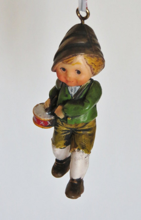 Vintage Hallmark Little Drummer Boy Ornament By Iprefervintage