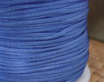 10 or 50 feet 1.5mm Royal Blue Nylon Cord