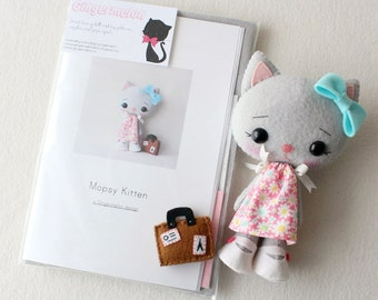 Mopsy Kitten Pattern Kit