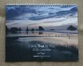 2015 Wall Calendar, Fine Art Photography Calendar, Nature Calendar, Quotes Calendar, Verse Calendar