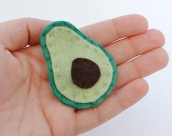 Avocado Hair Clip