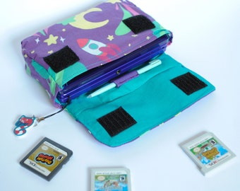Spacey 3DS / 3DS xL / New 3DS Carrying Case MADE TO ORDER