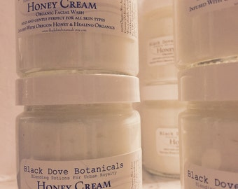 Vintage style cold cream makes a comeback..Black Dove Botanicals Jojoba Honey Facial Cleanser