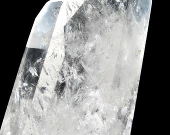 Large Quartz Crystal with Rainbow producing Inclusions