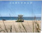 Carlsbad Lifeguard Tower 36 Note Card