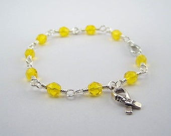 Ewing Sarcoma Awareness Bracelet