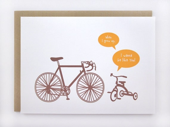When I Grow Up -  Greeting Card