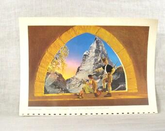 Switzerland Image , Switzerland , TWA Calendar , 1949 , Frameable Images , Travel , Vacation , Advertising , Rex Werner , Photography