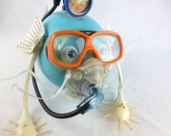 Amphibious Creature Repurposed Sculpture