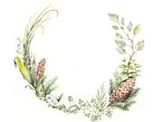 Scientific Wreath