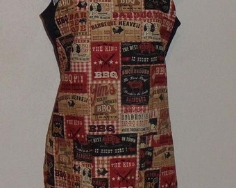 King of the BBQ Unisex BBQ Style Apron