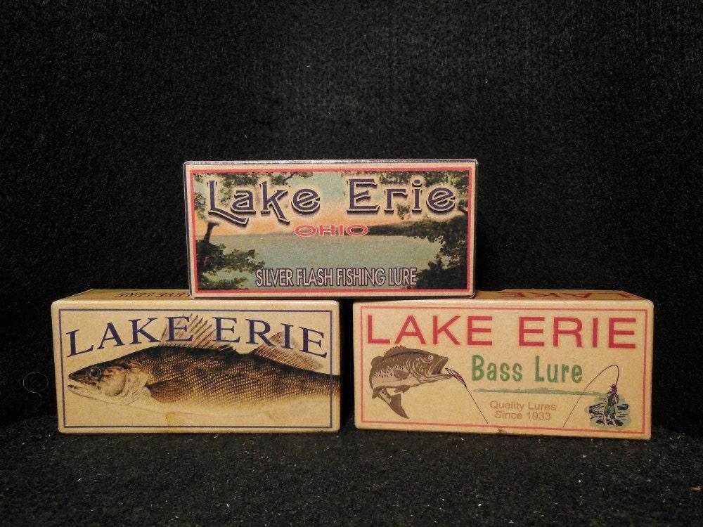 Lake House Decor Lake Erie Ohio Lake House Fishing Cabin Decor