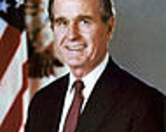 George H. Bush image 8 1/2 x 11 8 x 10 image