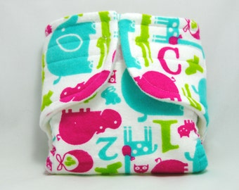 Baby Doll Diaper 123 ABC - Size Large