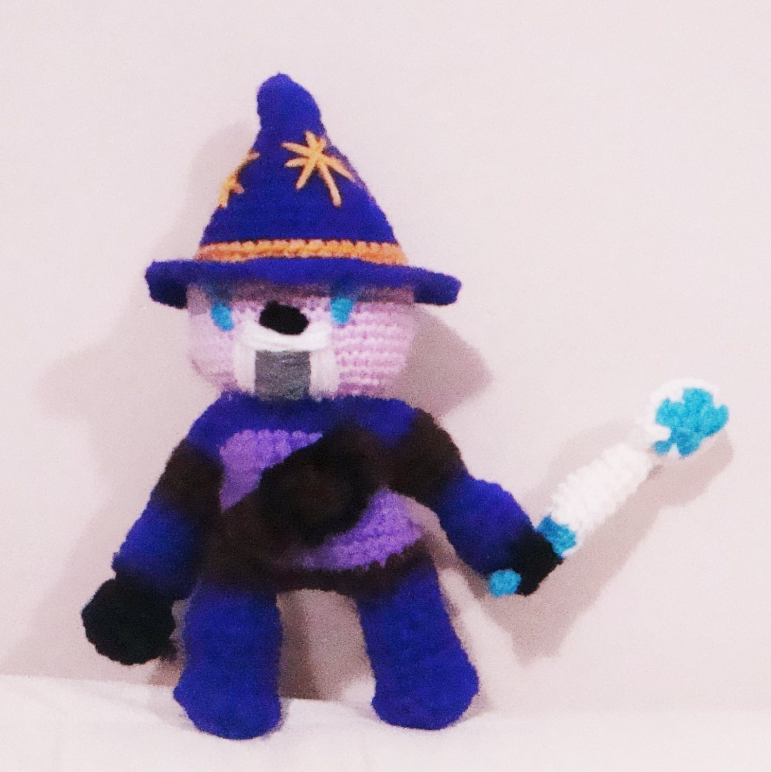 Sparlock Toy The Warrior Wizard Handmade Kids Gifts for boys Toy
