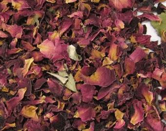 Rose Petals 2 Cup  Filler Natural  Potpourri Candles Soaps Crafts Naturals Primitive