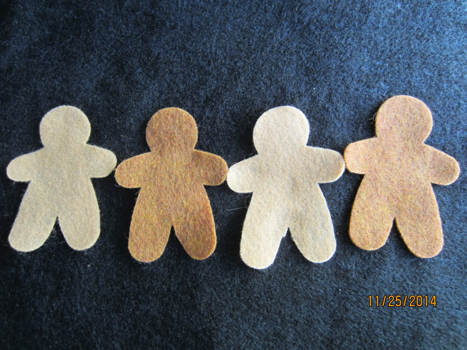 Gingerbread man ornament craft - Felt Gingerbread Men Ornaments Diy Kits For Christmas Crafts Parties Planner Accessories
