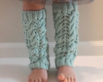 KNITTING PATTERN- The Sofia Leg Warmers PDF knitting pattern