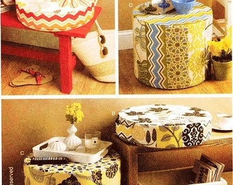 Stool Cover Pattern Etsy