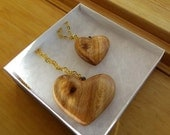 Mother Daughter Matching Heart Necklaces Birchwood Knot Gold Chain