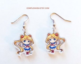 Sailormoon earrings - Usagi