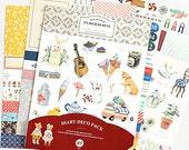 Un Jour De Reve Diary Deco Pack Stickers Ver. 5 - 9 sheets (4.7 x 6.3in)