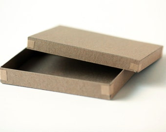 Set of 100  Recycled Kraft Photography Boxes  for 4x6  prints